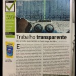 Matéria Revista Quatro Rodas sobre Glass Treatment Rain-X
